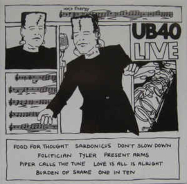 UB40 – Live (CD)