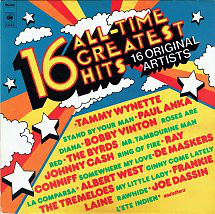 Various – 16 All-time Greatest Hits 16 Original Artists