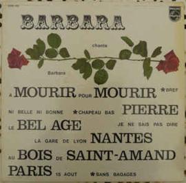 Barbara – Barbara Chante Barbara