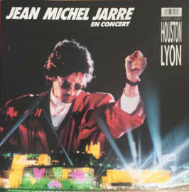 Jean Michel Jarre ‎– En Concert Houston / Lyon