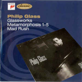 Philip Glass ‎– Glassworks, Metamorphosis 1-5, Mad Rush (CD)
