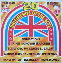Various ‎– 20 British Hits Of The 60's