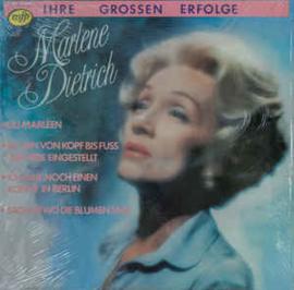 Marlene Dietrich – Ihre Grossen Erfolge