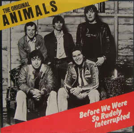 Original Animals ‎– Before We Were So Rudely Interrupted