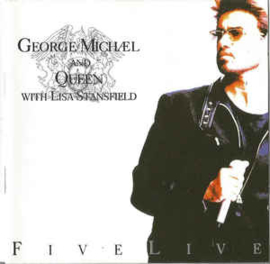 George Michael And Queen With Lisa Stansfield ‎– Five Live (CD)