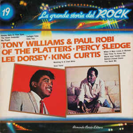 Various - Tony Williams & Paul Robi Of The Platters · Percy Sledge / Lee Dorsey / King Curtis ‎– Tony Williams & Paul Robi Of The Platters / Percy Sledge / Lee Dorsey / King Curtis