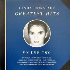 Linda Ronstadt ‎– Greatest Hits Volume Two