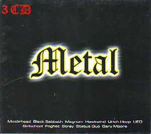 Various – Metal (CD)