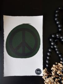 Canvas - Groen peace