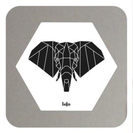 Hexagon - elephant