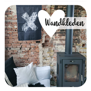 Wandkleed _ grote muurdecoratie _ Liefss