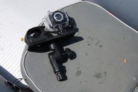 Steun (164x68 mm) met draaimechanisme voor fishfinder (dieptemeter) en optische apparatuur