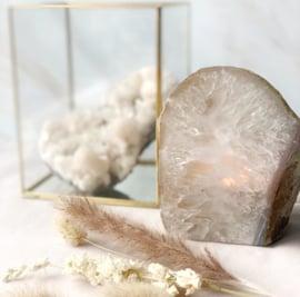 Agaat waxinelicht-houders Crystal Only (per 4 stuks)