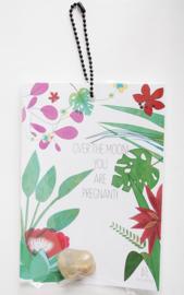 Floral Jungle: pregnant! - 2 stuks