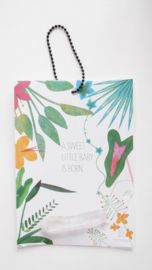 Floral Jungle: sweet baby!