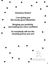 WINTER giftbag 'christmas rocks'