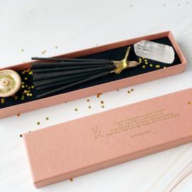 Wierook & Gemstone giftbox: XMAS edition (2 doosjes)