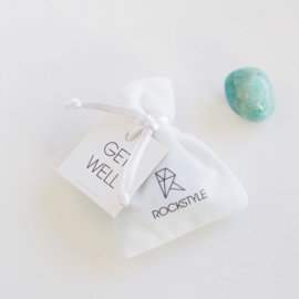 GET WELL - Amazonite - 3 pieces