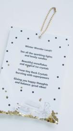 SET WINTER giftbags