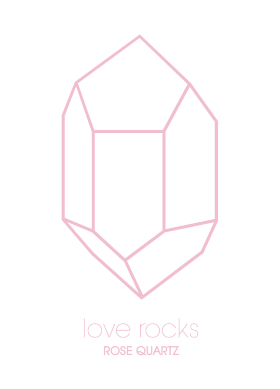 Love rocks - Rose Quartz