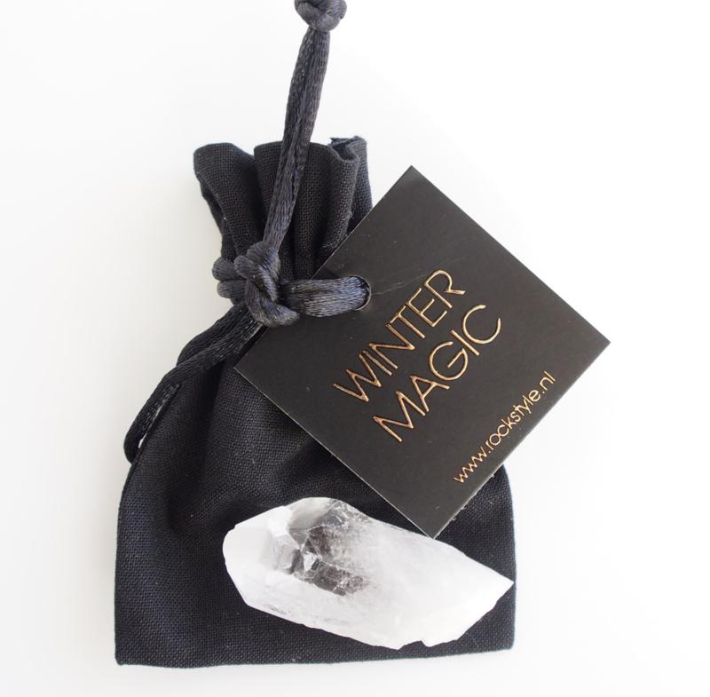 SET XMAS  giftbag Gold/Black * ROCK 2022 *