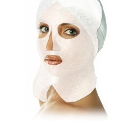Non-woven face mask and neck 100 stuks