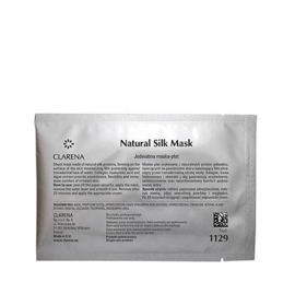 Natural Silk Mask NIUW!