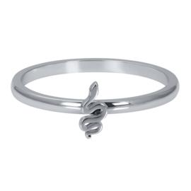 Opvul ring Symbool Snake