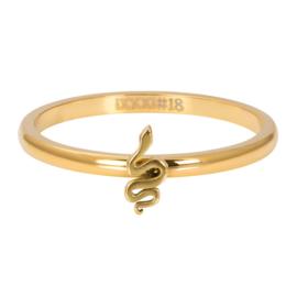 Opvul ring Symbol Snake