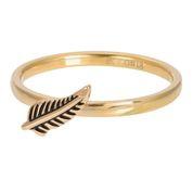 Symbol Feather goudkleurig