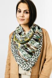 Sjaal Silk Animal - Groen