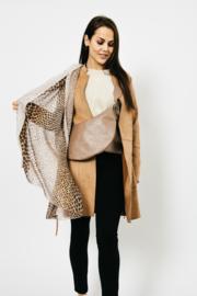 Sjaal Color Leopard - Kaki