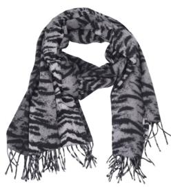 Sjaal Soft Zebra - Grijs