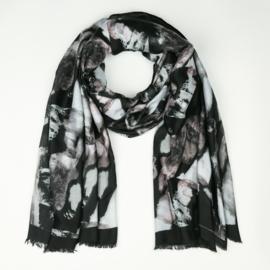 Sjaal Stains - Zwart