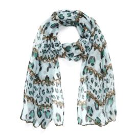 Sjaal Animal Chain - Groen