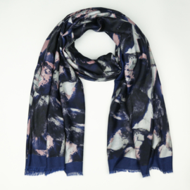 Sjaal Stains - Blauw