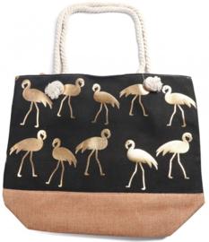 Tas Flamingo - Zwart