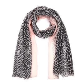 Sjaal Color Leopard - Roze