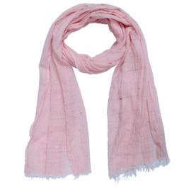 Sjaal Plain - Roze