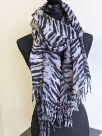 Sjaal Soft Tiger - Grijs