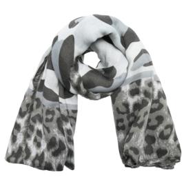 Sjaal Wild Cat - Grijs