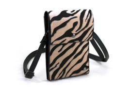 Tasje Safari Zebra - Naturel