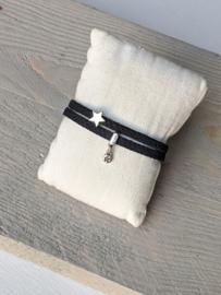 Armband Star - Zwart