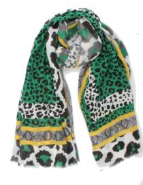 Sjaal Bissora - Groen