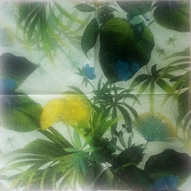 Servet natuur (5 stuks) - D13090