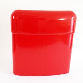 Sigarettenkoker plastic, rood - D10587