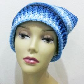 Muts ice blauw - H00060