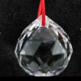 Kristallen bolhanger ± 5 cm - D12352