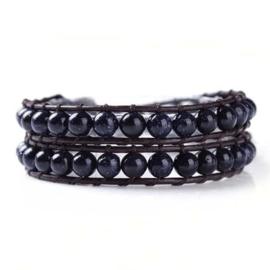 Lulu armband zwart - S11001