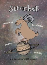 Kaart sterrenbeeld Steenbok - Sidedish - SD0010